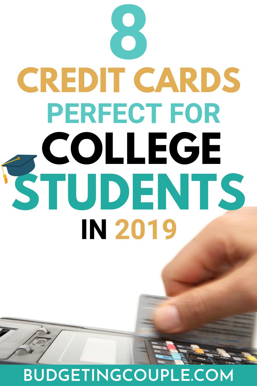 8 besten Kreditkarten perfekt für College-Studenten im Jahr 2019   – Frugal Living