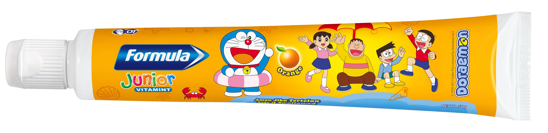 Formula Junior Vitamint Pasta Gigi Gel Khusus Untuk Anak Childrens Tooth Paste Mengandung Fluoride Dan Kalsium