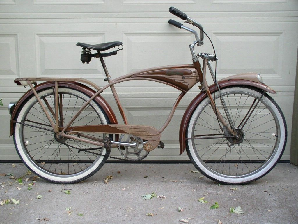 1949 Schwinn B-6 bicycle- this is classic cruiser perfection  | My