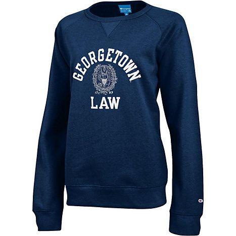 Product Georgetown Law Womens Crewneck Sweatshirt