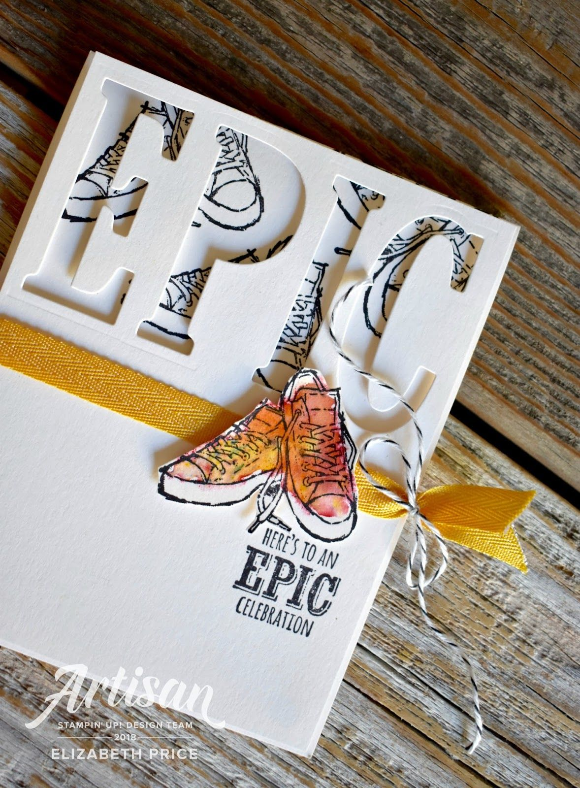 Epic celebration stampinu up artisan blog hop card ideas pazzle