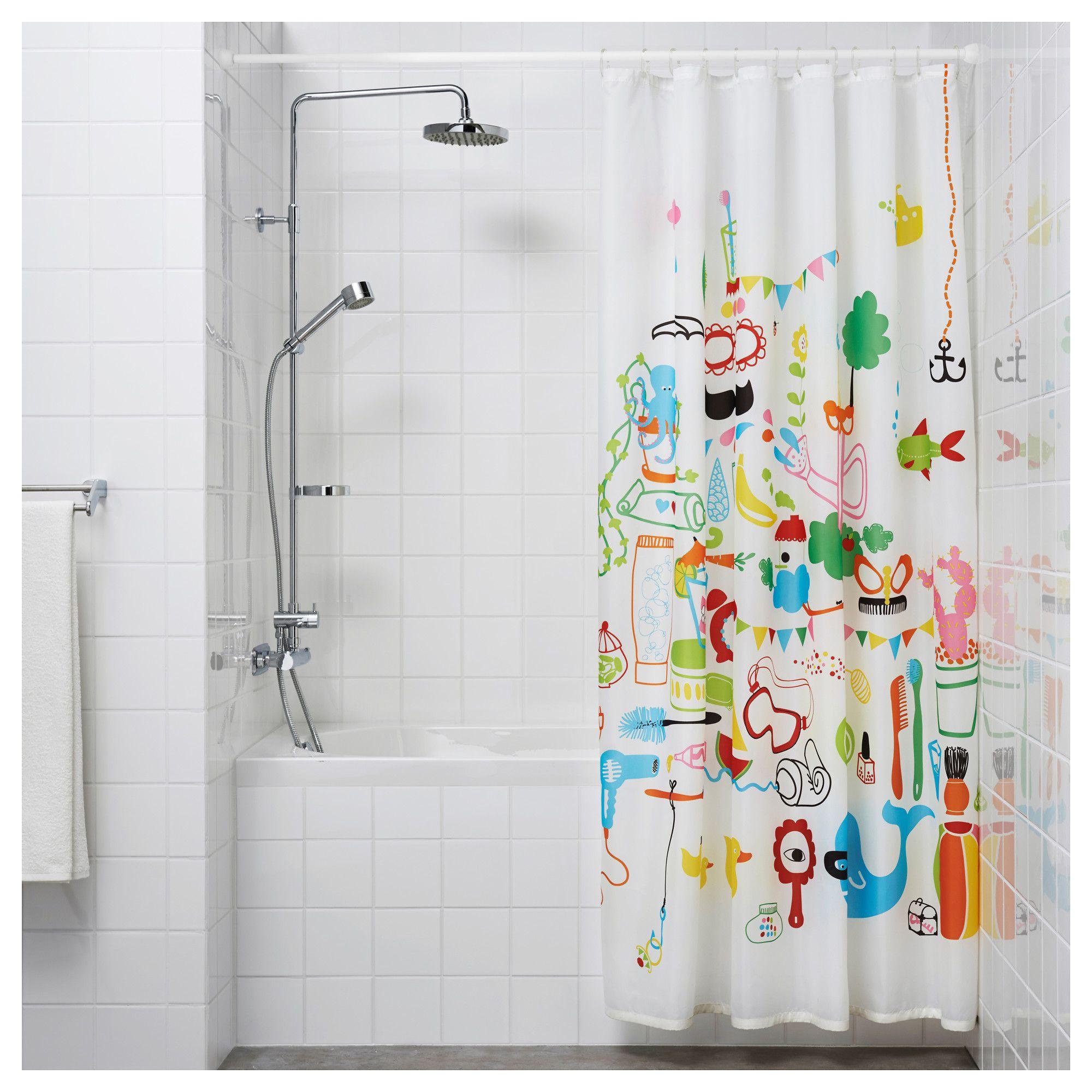 Botaren Shower Curtain Tension Rod White 47 79 120 200 Cm