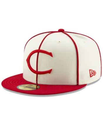 info for 92516 15715 New Era Cincinnati Reds Tbtc 59FIFTY-fitted Cap - White 7 1 2