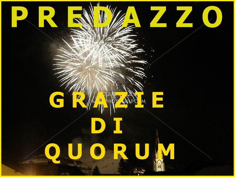 Raggiunto il quorum a Predazzo, i risultati del voto 2015