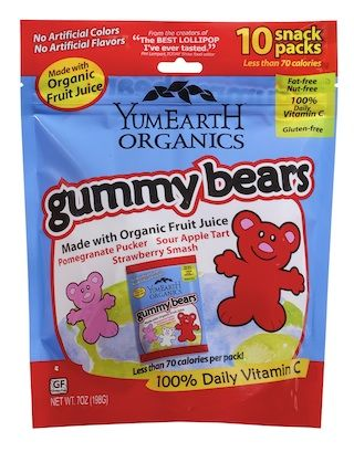 Say I LOVE YOU with YumEarth Organics Gummy Bears. VALENTINE'S DAY giveaway ends tomorrow.