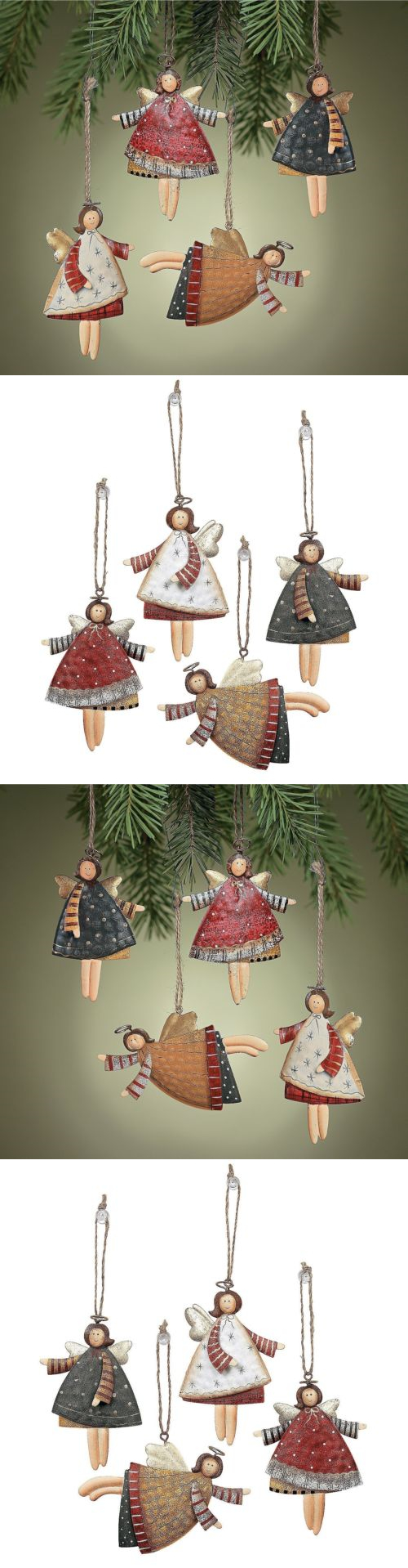 christmas decorations christmas tree ornaments dancing tin angels party holiday decor hanging ornament buy it
