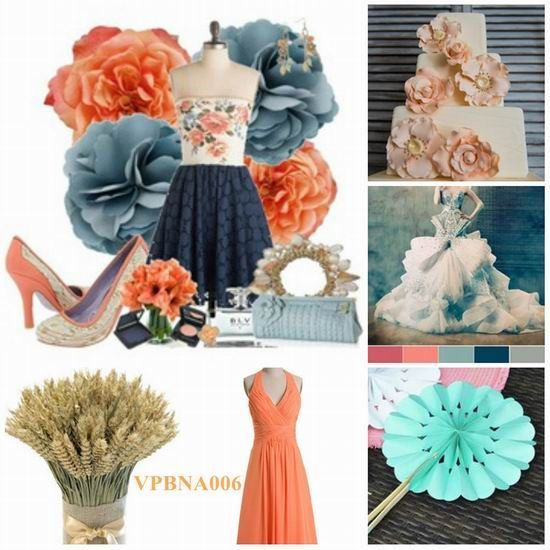 wedding color ideas for august wedding | chic summer August wedding ...