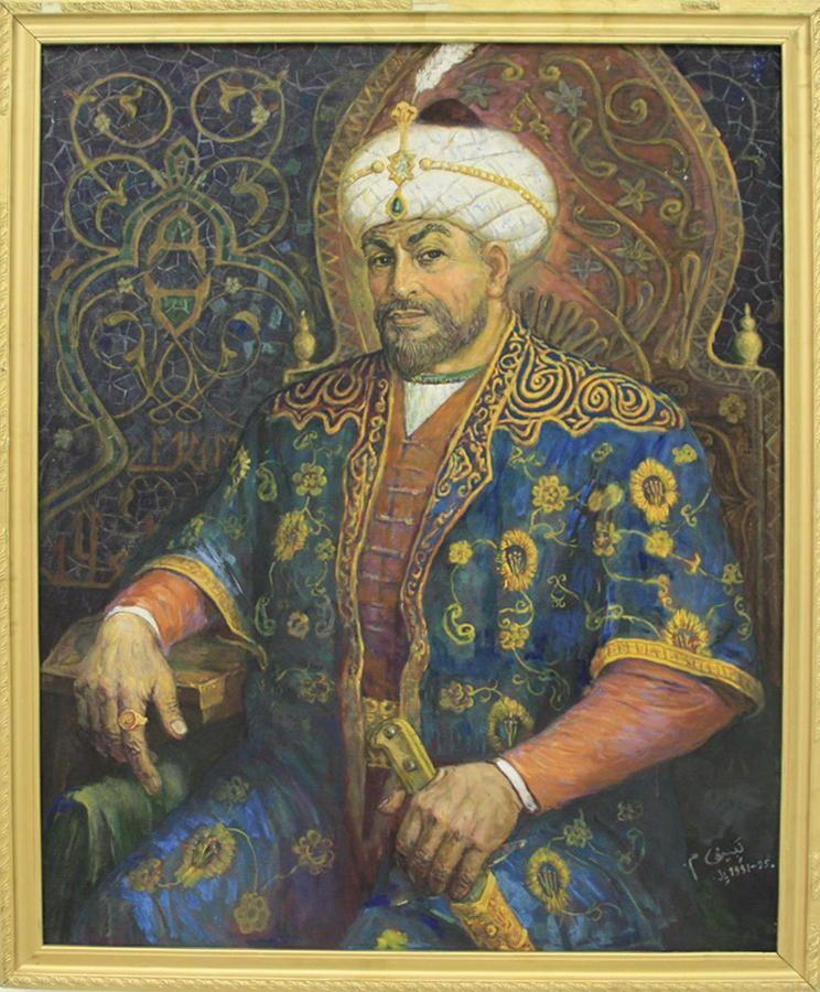 Nabiev M Amir Timur Na Trone 2004 Asya Tarihi Islami Sanat Tablolar