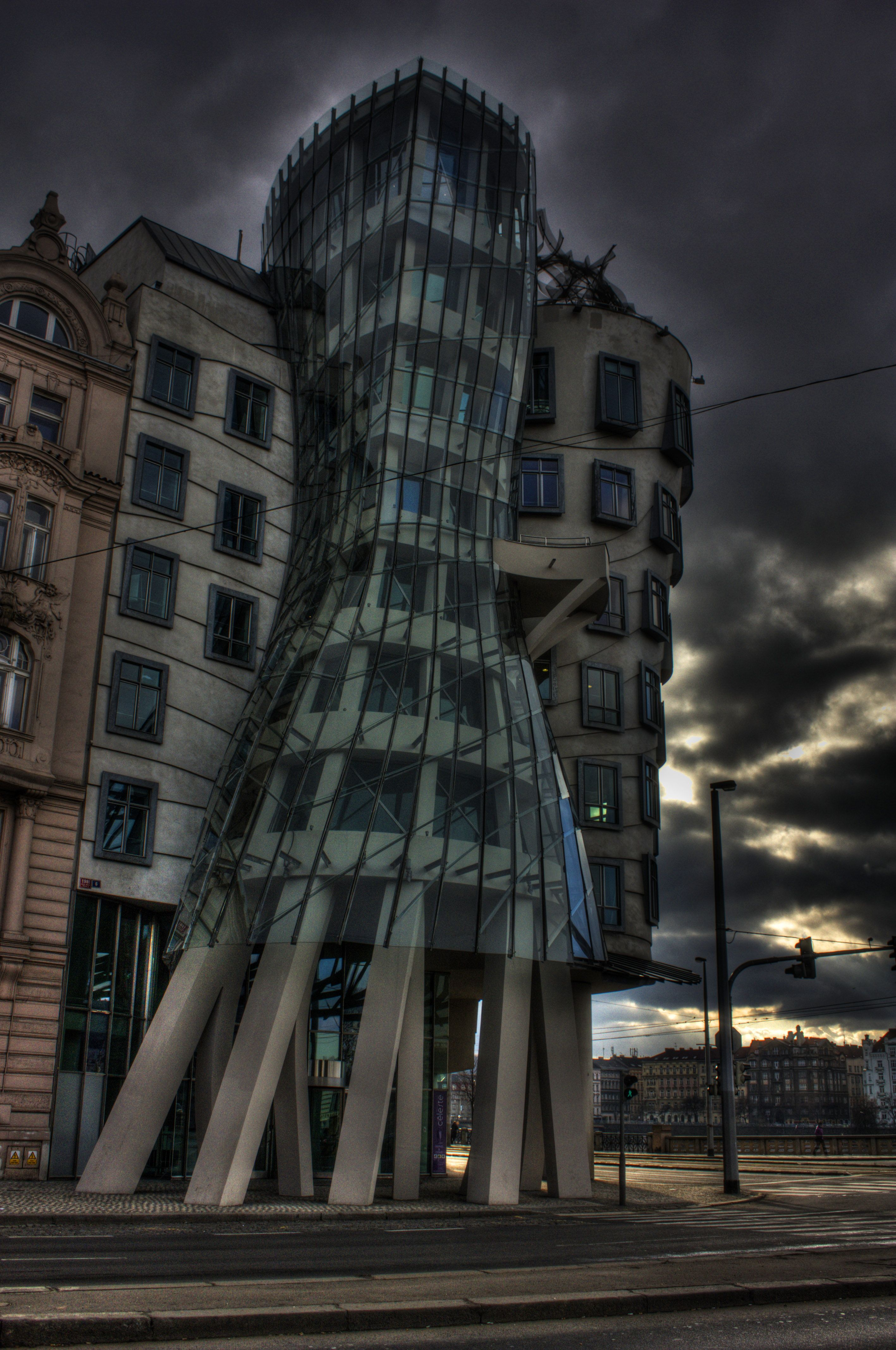 Dancing Building Prague