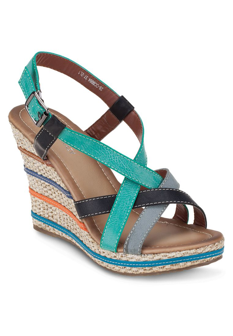 CRAZY & CRAZY Colorer Chic Wedge I ZALORA Thailand