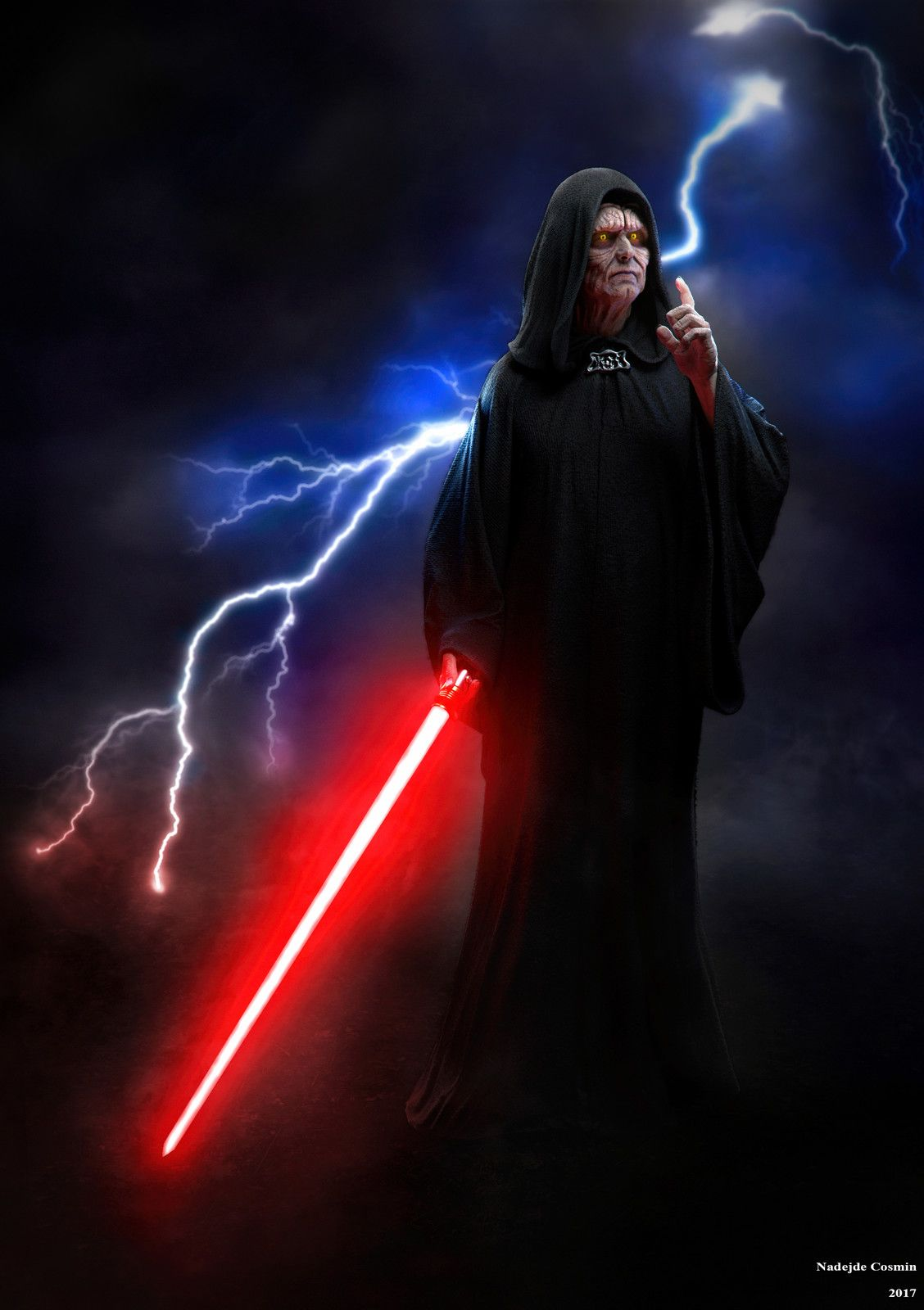 Dark Lord Of The Sith By Nadejde Cosmin On Artstation Dark Lord Of The Sith Dark Side Star Wars Star Wars Empire
