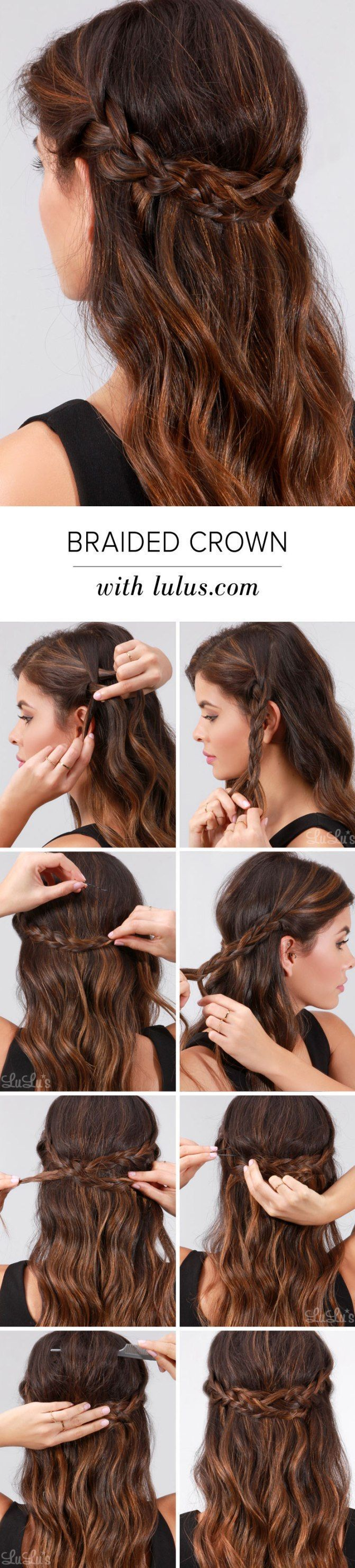 8 Easy Braids That Will Fix Any Bad Hair Day - DIYbunker #hairtutorials