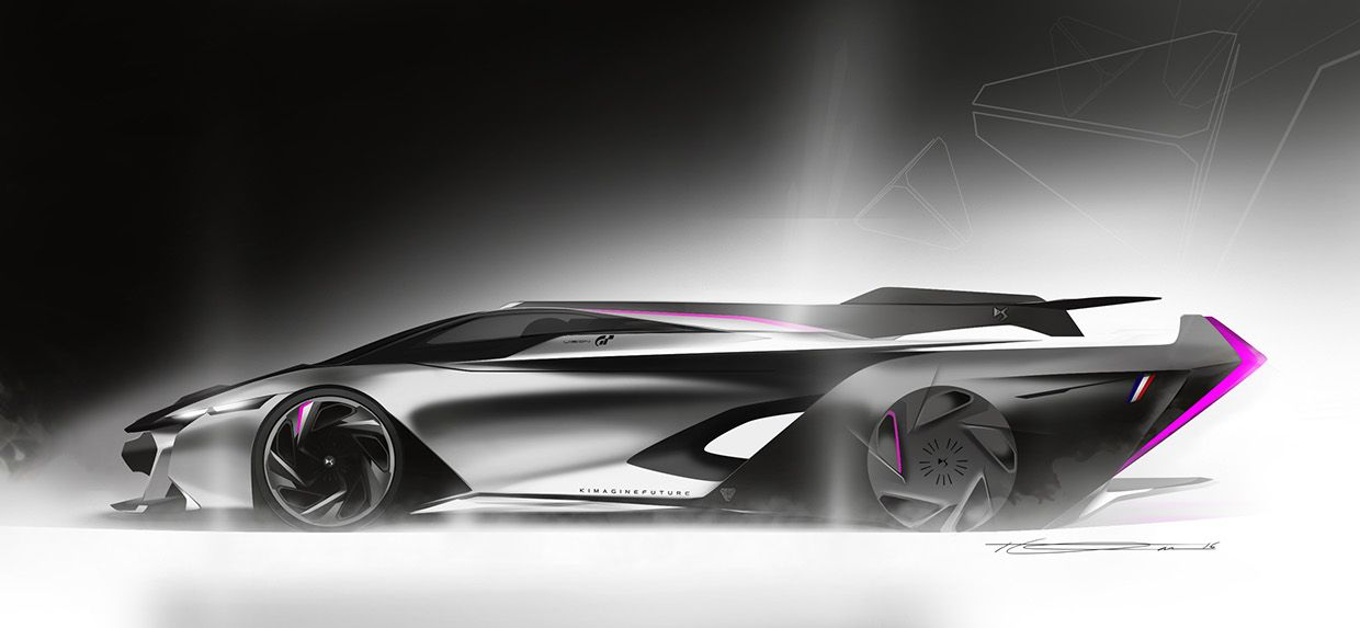 DS Vision Gran Turismo Luciel Concept on Behance