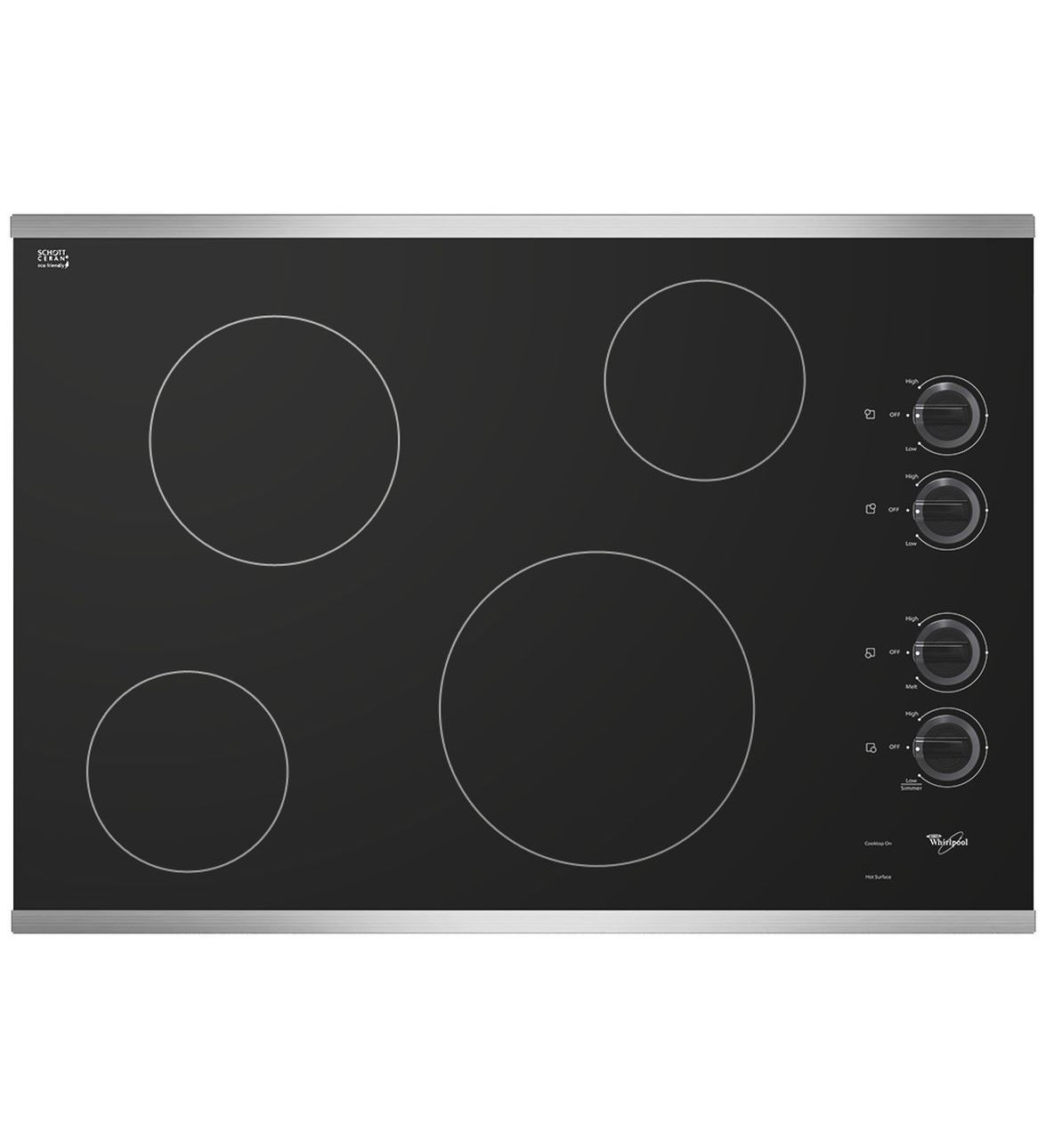Inch Electric Ceramic Gl Cooktop With Schott Ceran Surface Gas
