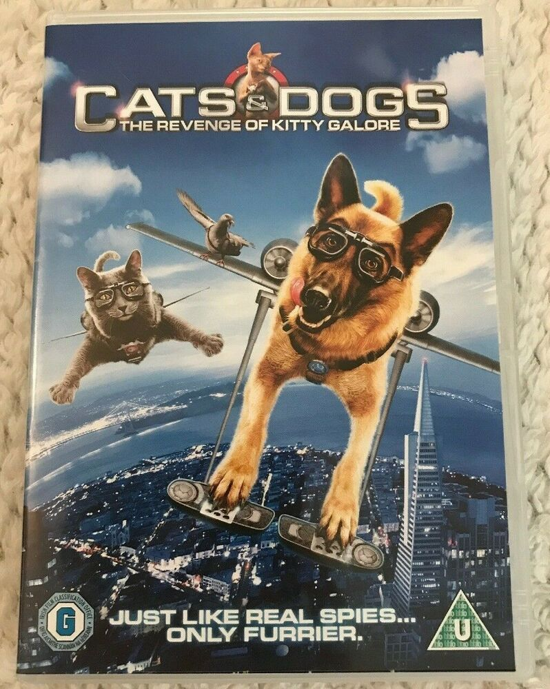 Only 1 60 Free Delivery Cats And Dogs The Revenge Of Kitty Galore Dvd 2010 Christina Applegate Dog Cat Dog Movies Dogs