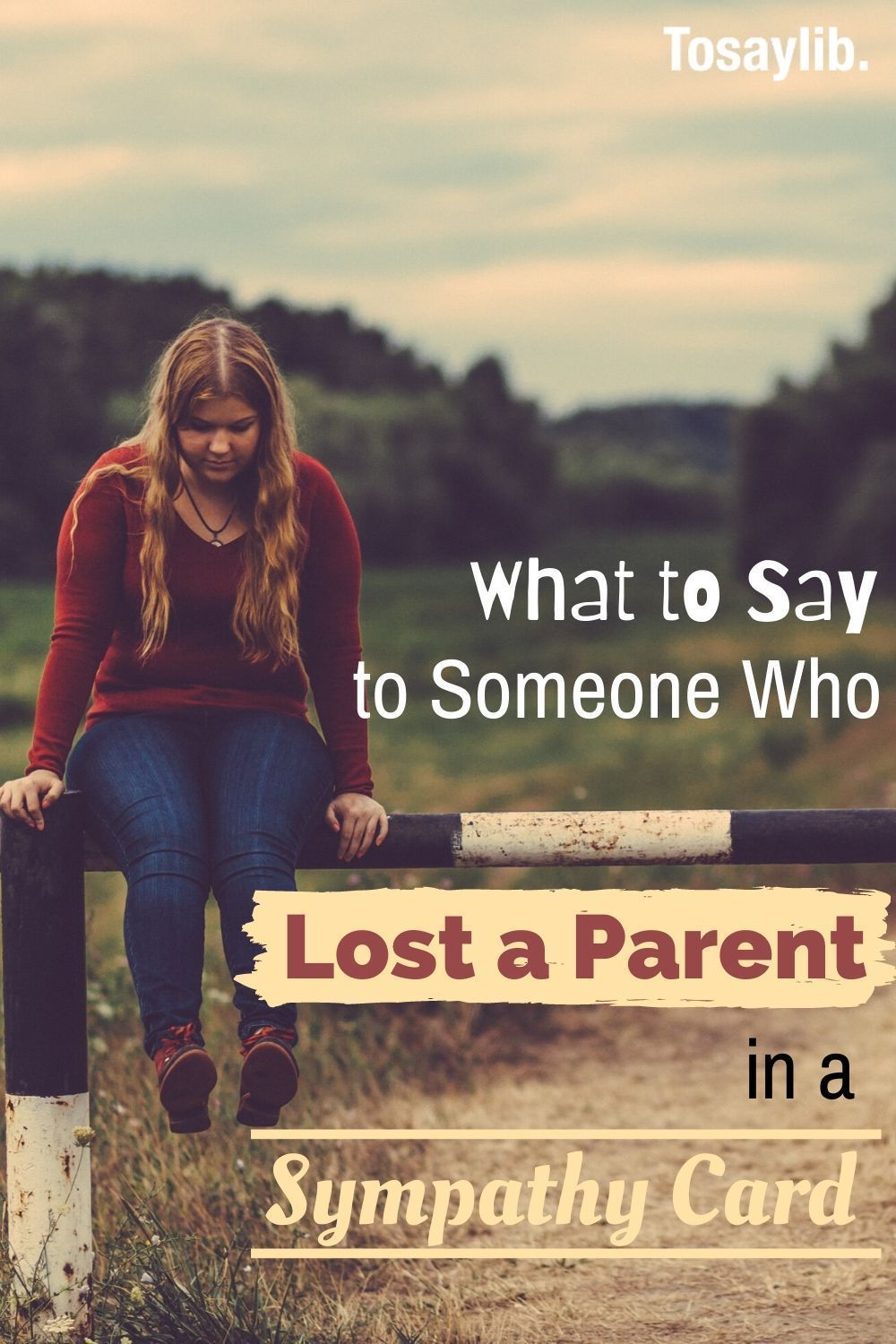 What to Say to Someone Who Lost a Parent in a Sympathy