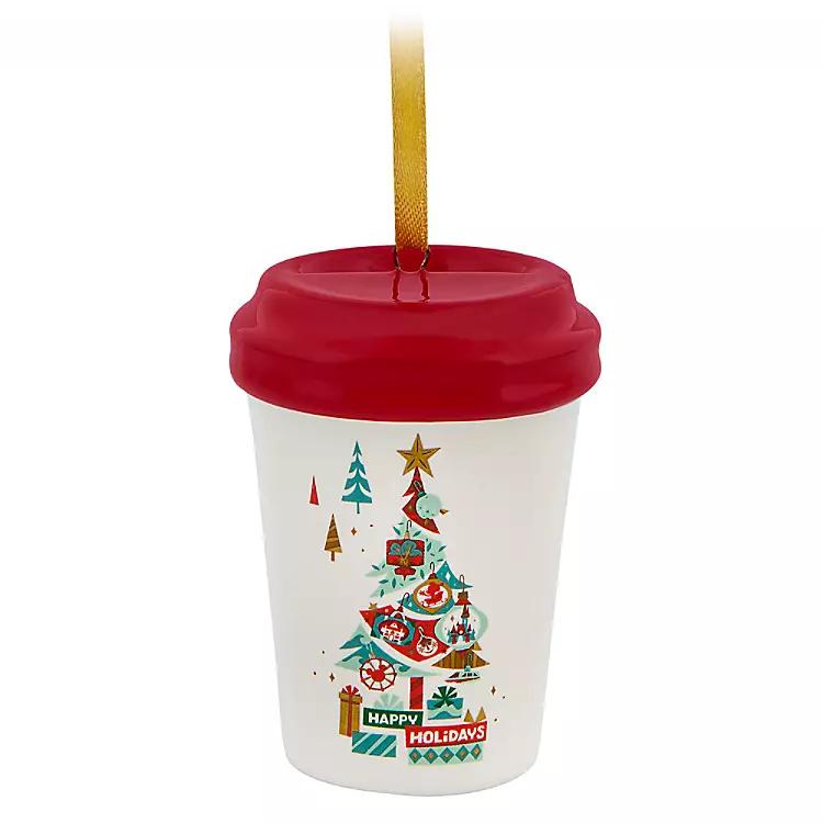 Disney Parks Happy Holidays Starbucks Ceramic Cup Ornament | shopDisney #disneycups