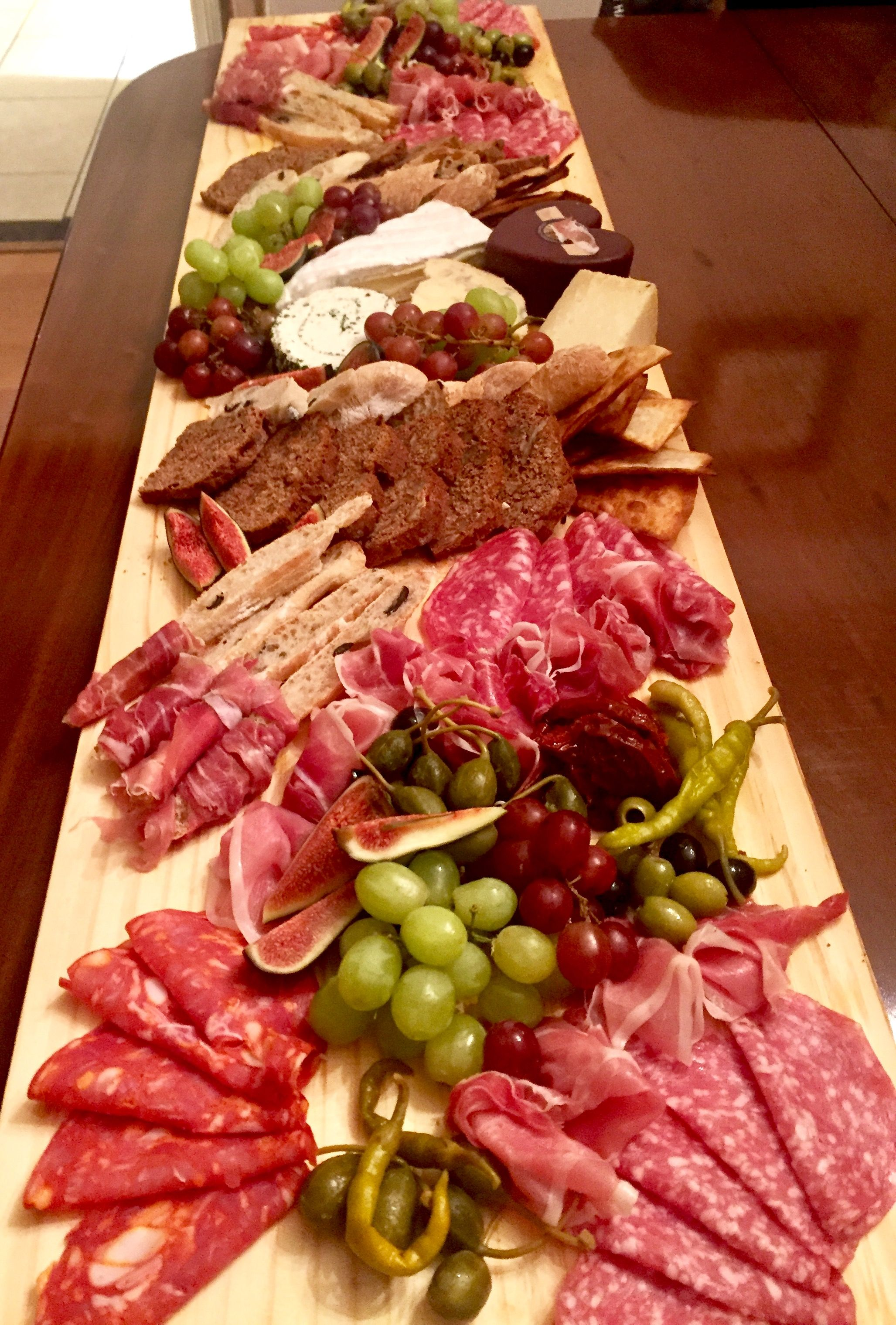 Charcuterie For A Crowd Appetizers Easy Food Charcuterie