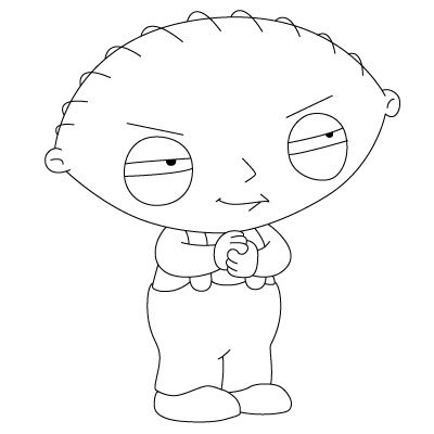 How To Draw Stewie Cartooning Track Pinterest Drawings