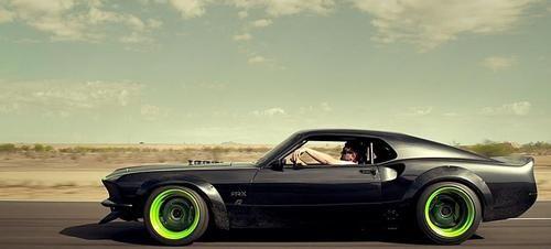 Vaughn Gittin Jr S Custom Built 1969 Rtr X Mustang Cars Car
