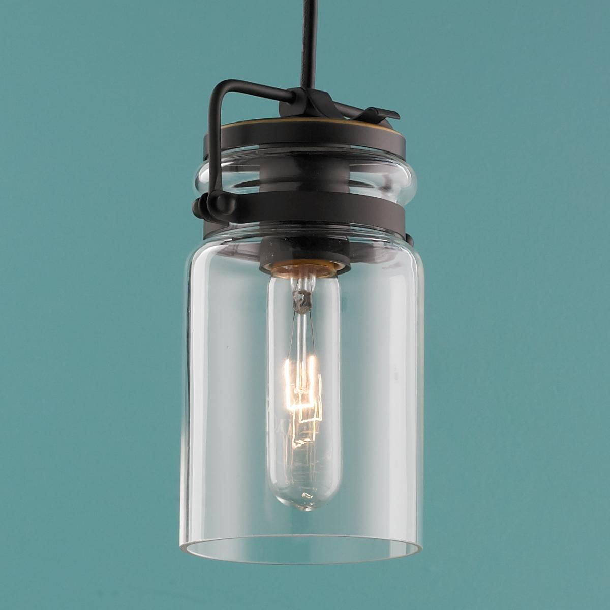 jar pendant lighting. Modern Mason Jar Pendant Light Lighting N