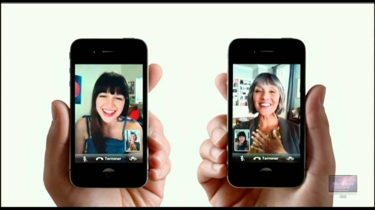 Publicité Apple iPhone 4 FaceTime (FR) Facetime, Tv