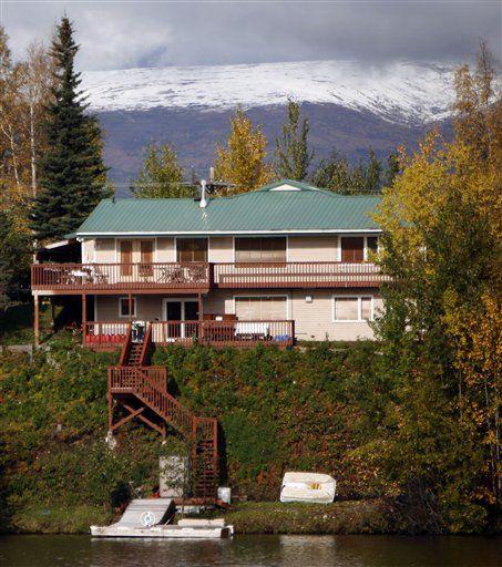 Alaska Wasilla Sarah Palin Home Of Alaska Gov Sarah
