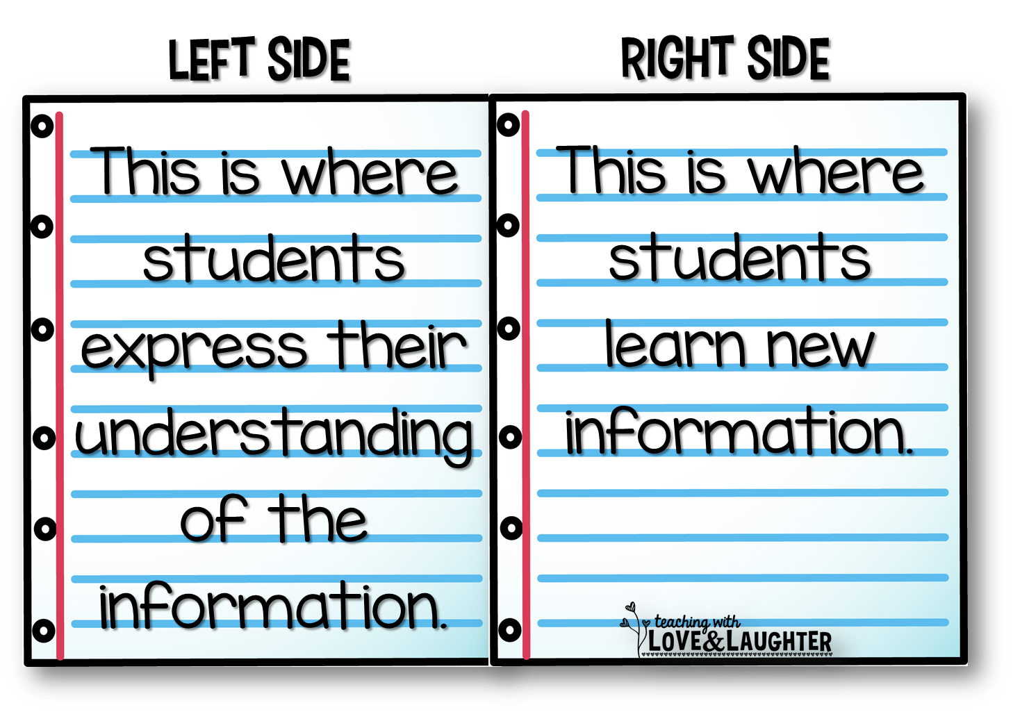 Teaching With Love And Laughter Interactive Notebooks It