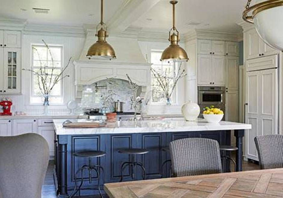 deep gold pendant lights for kitchen island - Hanging Kitchen Island Lights
