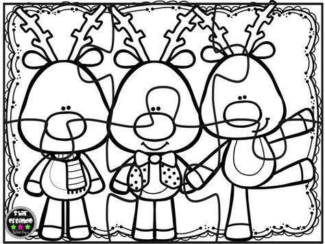 Puzzles navidad para colorear (7) Navidad Kinder Pinterest - navidad para colorear