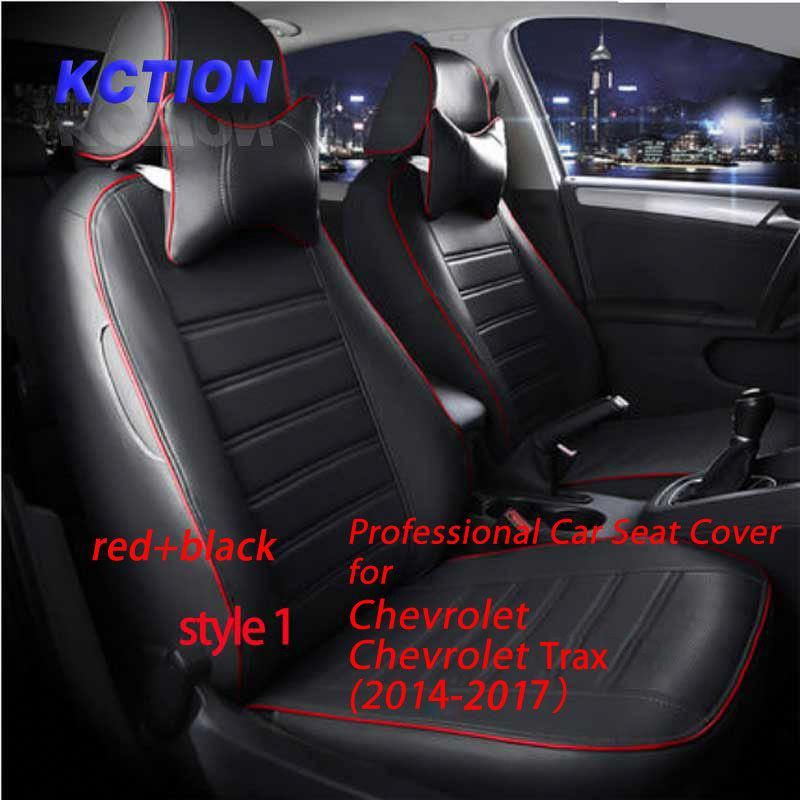 11 Colors Tailor Made Car Seat Cover For Chevrolet Trax 2014 2017 Composite Pu Styling Fully Enveloped Accessori Car Seats Interior Accessories Carseat Cover
