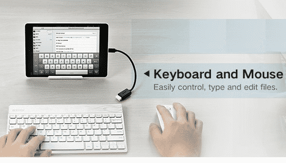 how to connect keyboard to tablet