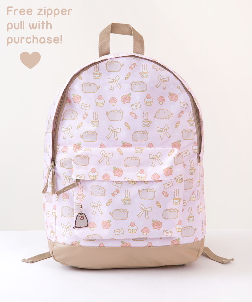 3008b5c1892 Pusheen all-over print backpack | Catification Travel | Cat backpack ...