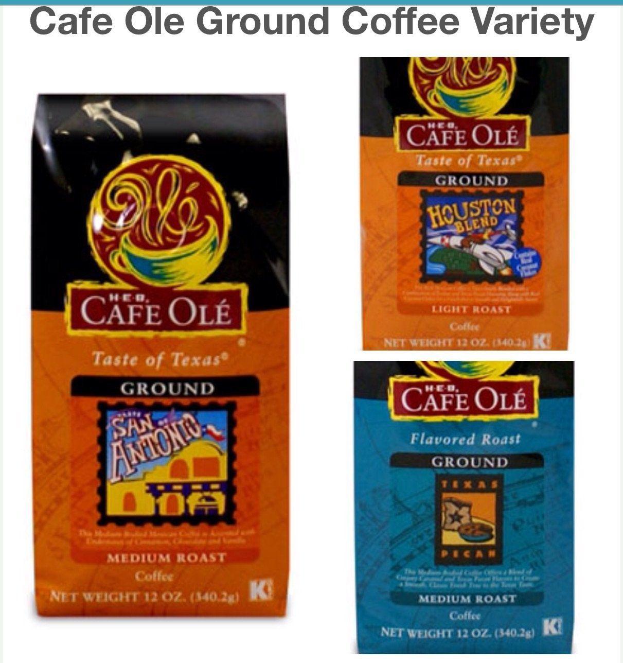 Cafe ole ground coffee variety pack san antonio coffee