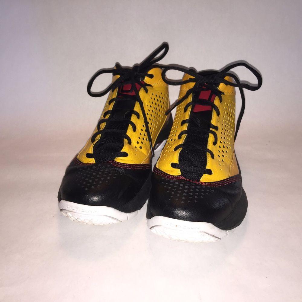 Nike Red Air JordaReig8.5 Yellow Black Red Nike Heat Wade Retro 2309aa
