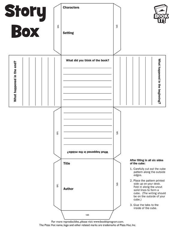 book report cube | 6th grade | Pinterest | Cube, Books and School