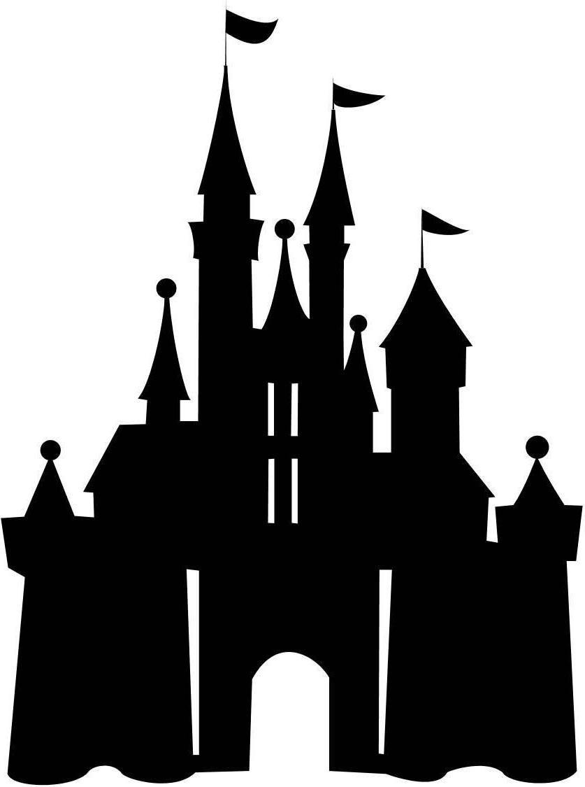 Disney castle logo clipart library - ClipartPost in 2020 ...
