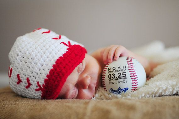 9 Awesome Baby Boy Birth Announcements – Football Birth Announcements