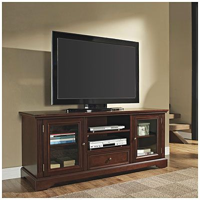 NO IN STORE ONLY 60 TV Stand with Drawer at Big Lots 60L x 20