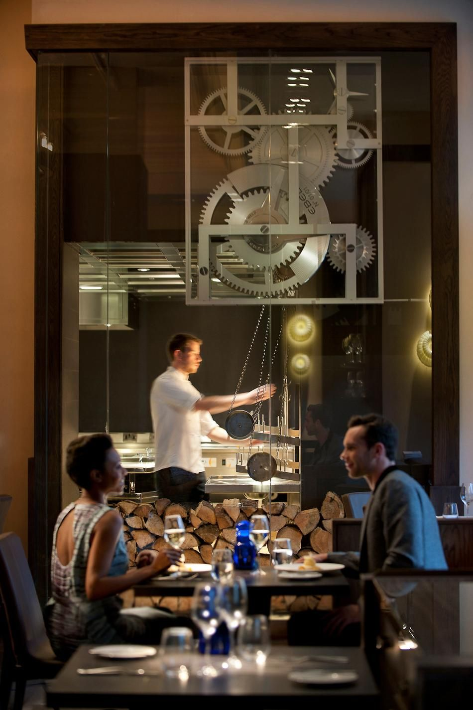 40th celebrations Dinner by Heston Blumenthal - London For Old English style cuisine with a modern twist, visit Dinner by Heston Blumenthal (66 Knightsbridge, Knightsbridge; +44 020/7201-3833) at the Mandarin Oriental