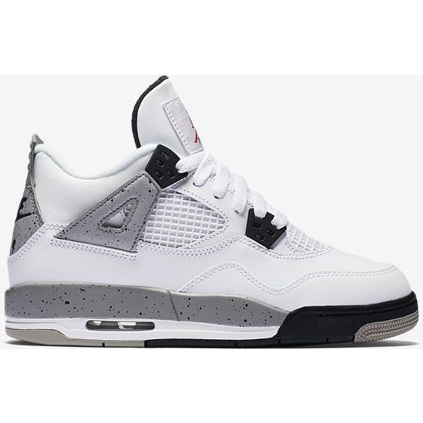 the latest 759e2 78e0d Air Jordan 4 Retro OG (3.5y-7y) Kids  Shoe. Nike.com ( 160) ❤ liked on  Polyvore featuring sneakers
