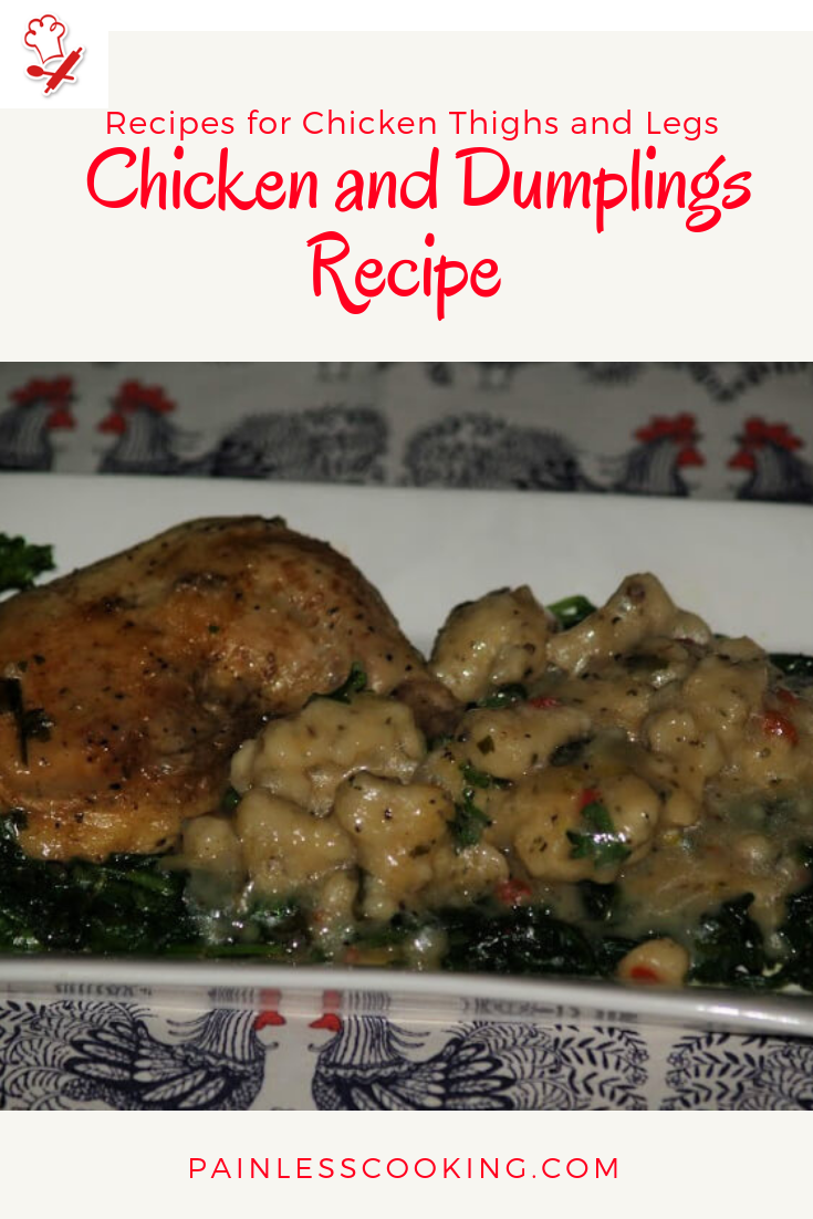 recipes for chicken thighs and legs  chicken and