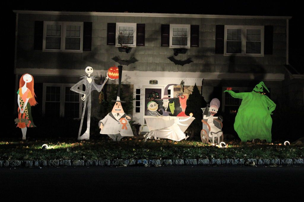 nightmare before christmas lawn decorations on instructables - Nightmare Before Christmas Lawn Decorations