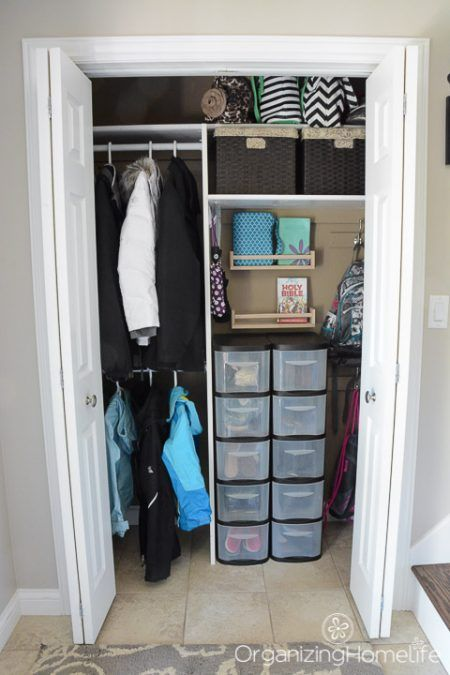 Organized Entryway Closet I Can Only Aspire To Being This Tidy