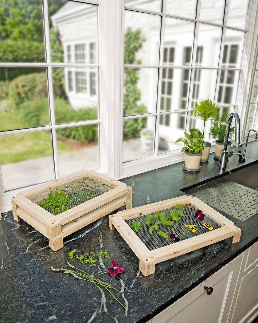 Stacking Herb Drying Racks, Set of 3 | Gardeners.com