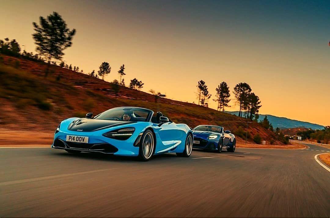 Aston Martin Dbs Volante Vs Mclaren 720s Spider Aston Martin Dbs Volante Aston Martin Dbs Expensive Cars