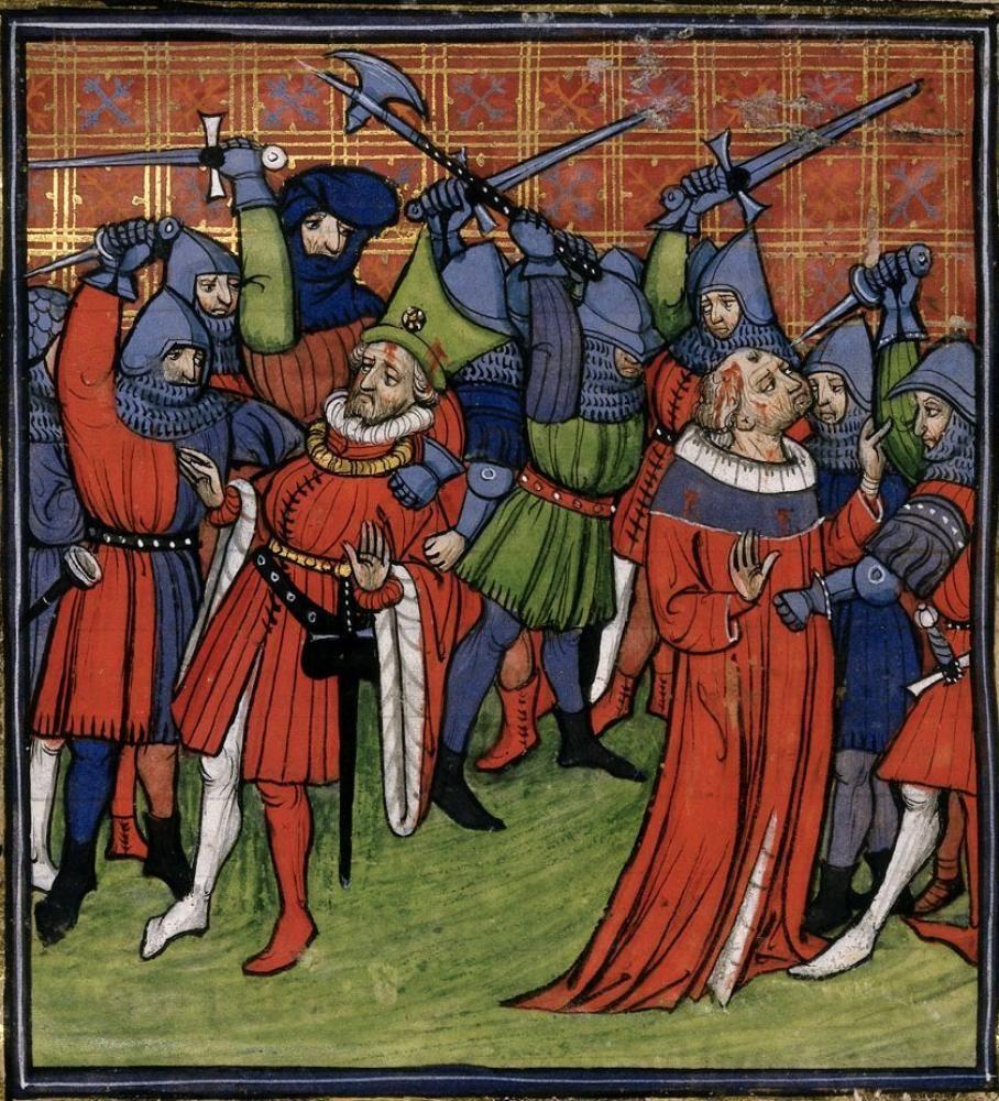 BL Royal 20 C VII Chroniques de France ou de St Denis | 14 ...