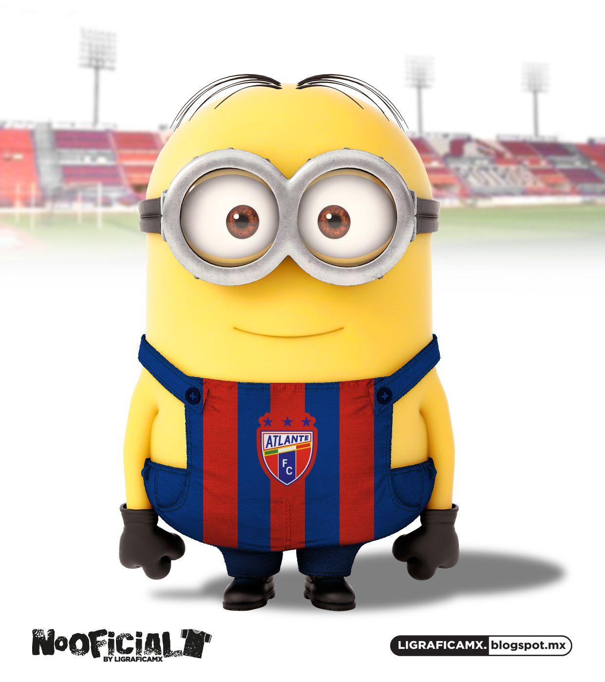 Soccer minion NoOficial LigraficaMX Atlante Cosas