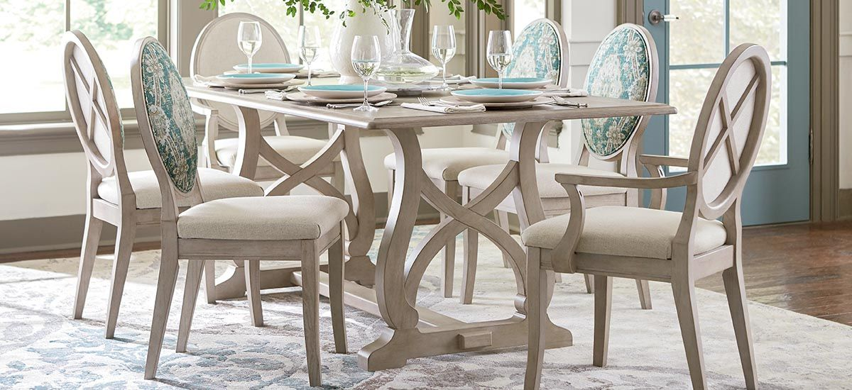 Not White But In A Natural Finish Like The Table Only Dining
