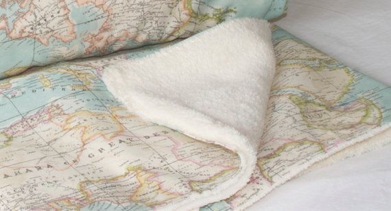 World map bedding map set of 3 1 blanket and 2 cushions sofa items similar to world map bedding map set of 3 1 blanket and 2 cushions sofa decor bed decor bedspread map throw blanket map throw cushion gumiabroncs Images